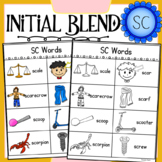 Initial Blend SC Worksheets