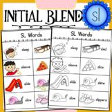 Initial Blend SL Worksheets