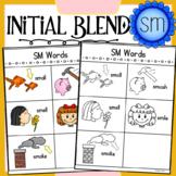 Initial Blend SM Worksheets
