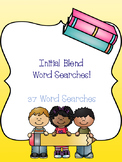 Initial Blend Word Search Bundle! {37 word searches}