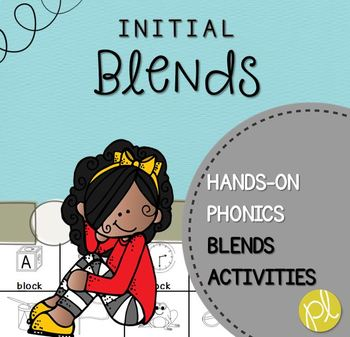 Initial Blends Activity Pack