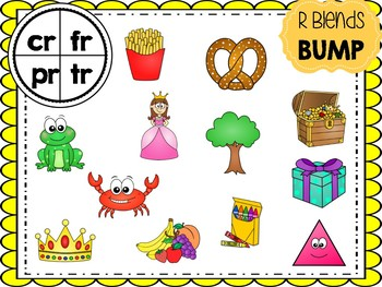Initial Blends BUMP Games & Picture Sorts