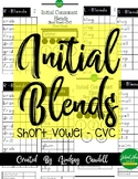 Initial Blends - Booklet
