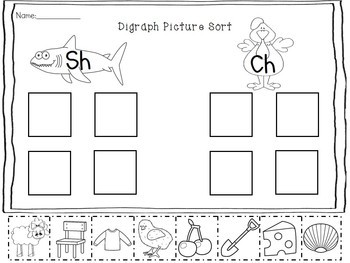 Initial Blends & Digraphs Pack