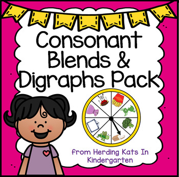 Consonant Blends & Digraphs Pack