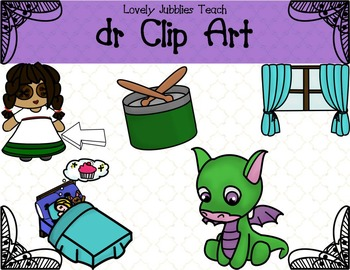 Initial Blends: Dr Clip Art