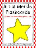 First Grade Phonics: Blends Flashcards