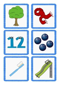 Initial Blends Matching Game
