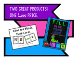 Initial & Blends Phonics Cards & Fill in the missing Phonemes Bundle