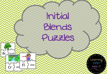 Initial Blends Puzzles