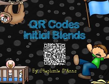 Initial Blends QR Codes Activity