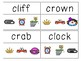 Initial Blends Read & Clip Cards
