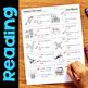 Initial Blends S-Blends & TW Worksheets & Activities No-Prep Phonics Worksheets