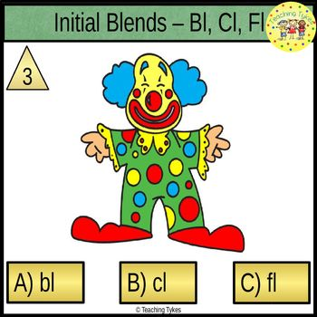 Initial Blends Task Cards Bl Cl Fl