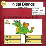 Initial Blends Task Cards Br Cr Dr Fr
