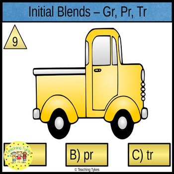 Initial Blends Task Cards