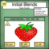 Initial Blends Scr Shr Str Task Cards