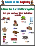 Blends at the Beginning Worksheets Orton Gillingham Spelling
