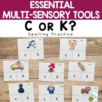 Initial C or K Spelling Rule FREEBIE