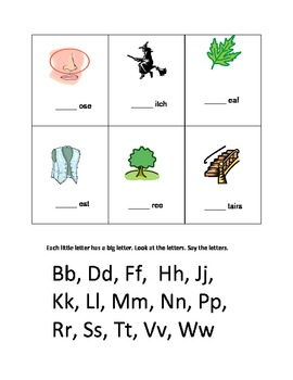 Guided Reading and Phonics Activities, Kindergarten & First grade