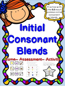 Initial Consonant Blends