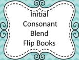 Initial Consonant Blends Flip Books