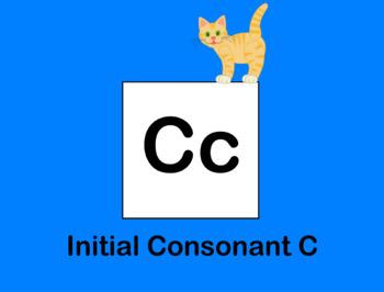 Initial Consonant C Flipchart