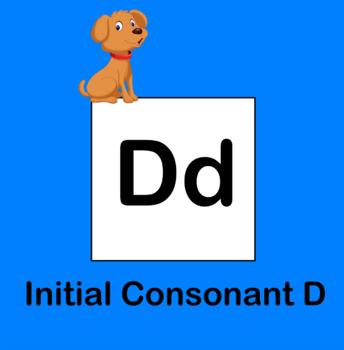Initial Consonant D Flipchart