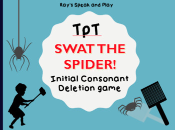 Initial Consonant Deletion Card Game