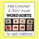 Initial Consonant and Short Vowel Word Sorts