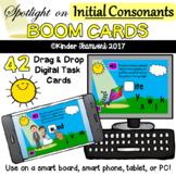 Initial Consonants - Drag and Drop PAPERLESS Digital BOOM Task Cards {NO PREP!}