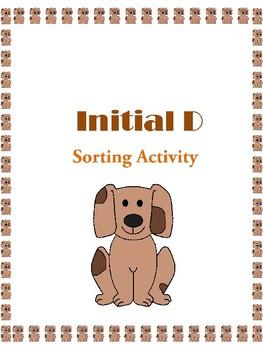 Initial D - Sorting Activity- File Folder Game