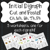 Initial Digraph (Wh, Ph, Sh, Ch, Th) Cut and Paste!