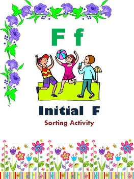Initial F - Sorting Activity - File Folder Game