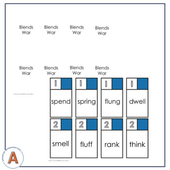 Initial & Final Blends Game