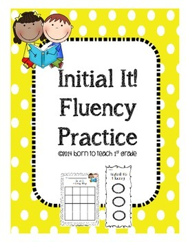 Initial It! Fluency Practice