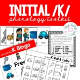 Fronting Phonology Toolkit - initial /k/