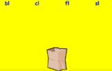 Initial L Blend Sort Activboard Activity - bl, cl, fl, sl
