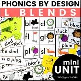 Initial L Blends Phonics By Design Mini-Unit
