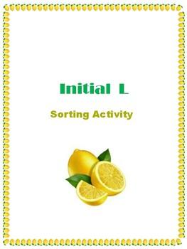Initial L - Sorting Activity