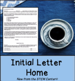 Initial Letter Home