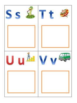 Initial Letter Sorting (Letters Ss, Tt, Uu, Vv)