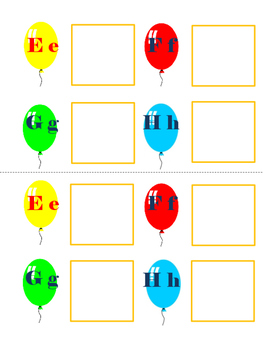 Initial Letter Sorting (letters Ee, Ff, Gg, Hh)