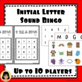 Initial Letter Sound Bingo - SATPIN and MDGOCK Letters