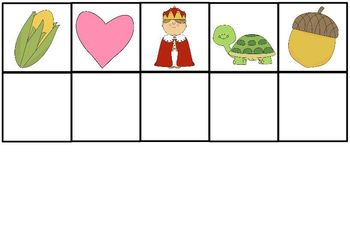Initial Letter Sound Game Cards