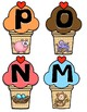 Initial Letter Sound Ice-Cream Match