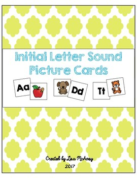 Initial Letter Sound Picture Cards