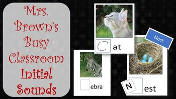 Initial Letter Sounds