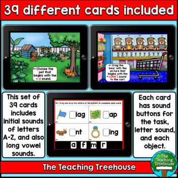 Initial Letter Sounds BOOM CARDS™