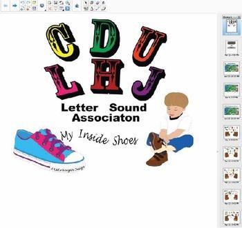 Initial Letter Sounds- C, D, U, L, H, J